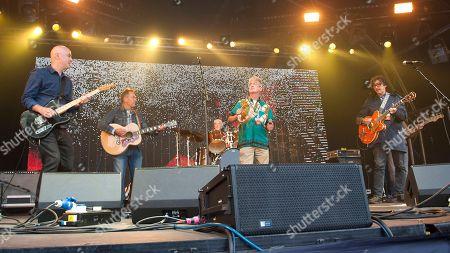 Stock Photo of The Bluebells - Bobby Bluebell, Ken McCluskey, David McCluskey