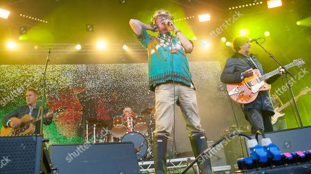 Editorial picture of Party at The Palace, Linlithgow, Scotland, UK - 12 Aug 2018