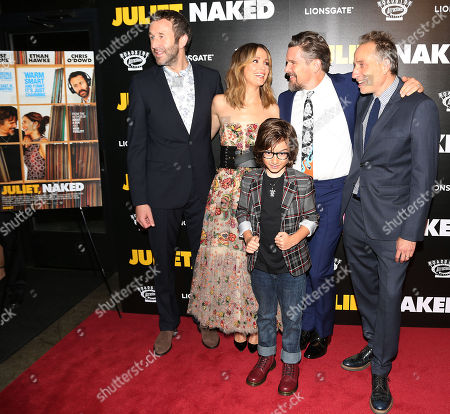 Chris O'Dowd, Rose Byrne, Azhy Robertson, Ethan Hawke and Director Jesse Peretz