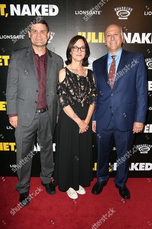 Howard Cohen, Eda Kowan and Jason Constantine