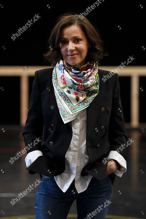 Australian singer Tina Arena poses for photographs following a rehearsal for the Opera Australia musical production of Andrew Lloyd Webber's Evita, in Sydney, Australia, 15 August 2018. Evita will play at the Sydney Opera House from 13 September, followed by a season at Arts Centre Melbourne from 05 December.