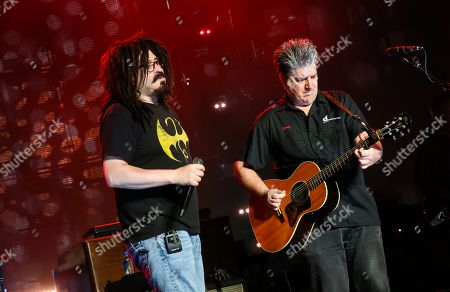 Editorial image of Counting Crows in concert at PNC Bank Arts Center, New Jersey, USA - 14 Aug 2018
