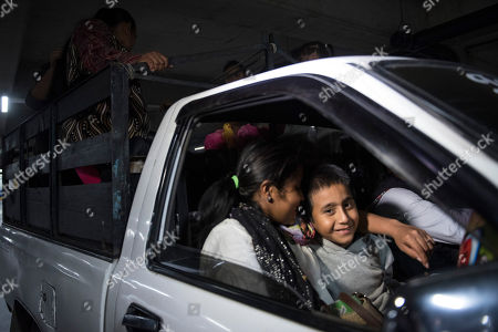 Anthony David Tovar Ortiz, Elsa Ortiz Enriquez. Anthony David Tovar Ortiz, center, and his mother Elsa Ortiz Enriquez leave La Aurora airport, as they are reunited in Guatemala City, . The 8-year-old boy stayed in a shelter for migrant children in Houston after his mother was deported in June 2018 under President Donald Trump administration's zero tolerance policy