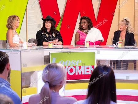 Kaye Adams, Coleen Nolan, Chizzy Akudolu and Linda Nolan