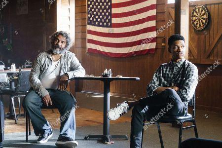 Stock Photo of Hemky Madera as Pedro Uribe, Tyrel Jackson Williams as Charles