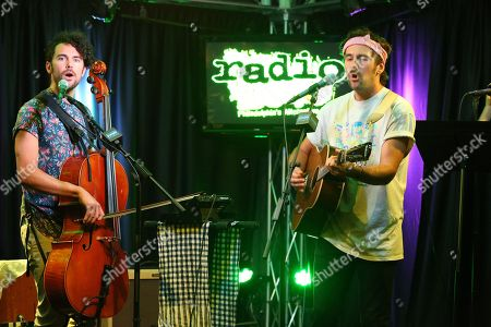 Editorial photo of Tall Heights in concert at Radio 104.5, Bala Cynwyd, USA - 14 Aug 2018