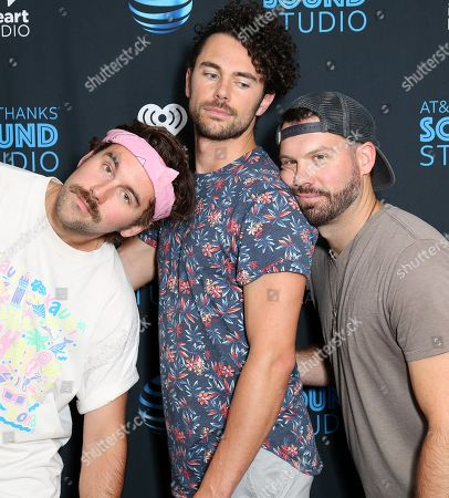 Editorial image of Tall Heights in concert at Radio 104.5, Bala Cynwyd, USA - 14 Aug 2018