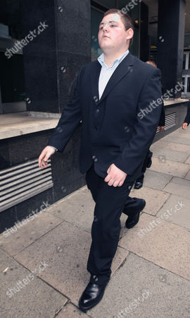 Editorial photo of Harry Potter actor Jamie Waylett at Westminster Magistrates Court, London, Britain - 16 Jul 2009