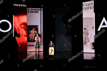 Editorial image of 'Opera Australia' season launch at the Joan Sutherland Theatre, Sydney, Australia - 16 Aug 2018