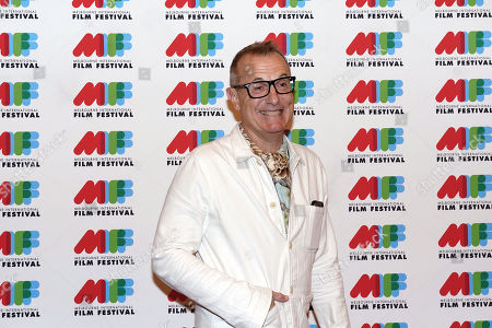 Australian musician James Reyne poses for photographs during the world premiere of Working Class Boy at the Comedy Theatre in Melbourne, Australia, 16 August 2018. Joffe's new film Working Class Boy is based on Jimmy Barnes' bestselling memoir.