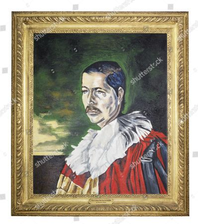 Portrait of John Bingham, 7th Earl of Lucan by the society artist Dominick Elwes. The father of actor Cary Elwes, artist Damien Elwes and the film producer Cassian Elwes, he committed suicide in 1975. Estimate: £1,500-2,500.