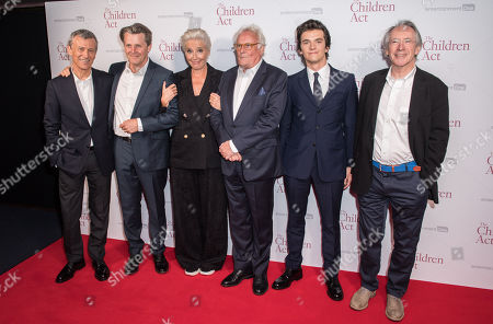 Duncan Kenworthy, Anthony Calf, Emma Thompson, Richard Eyre, Fionn Whitehead and Ian McEwan