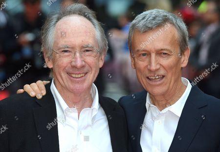 Ian McEwan and Duncan Kenworthy