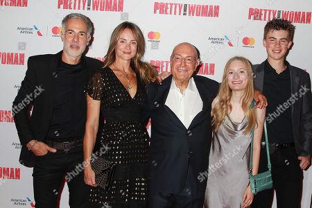 Arnon Milchan with Family