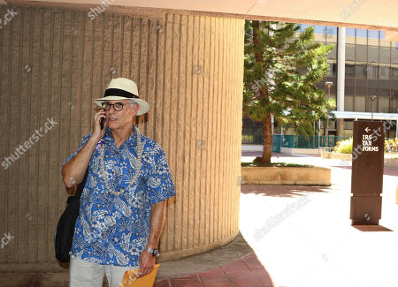 Stock Photo of Gay-rights activist and Mormon critic Fred Karger stands outside the Federal Building in Honolulu, where his group filed a complaint against the Mormon church with the U.S. Internal Revenue Service. Mormon critics are asking the IRS to investigate allegations that the church uses a Hawaii cultural center to commit tax fraud