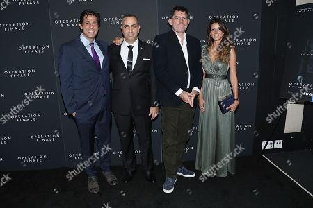 Jonathan Glickman (President, Motion Picture Group MGM), Avner Avraham, Chris Weitz (Director)