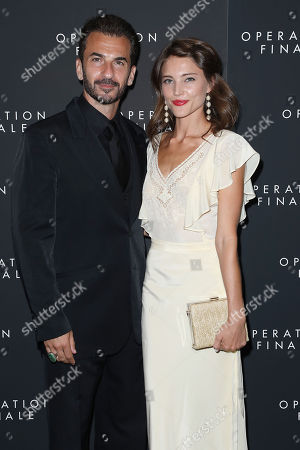 Editorial photo of New York Premiere of 'Operation Finale', USA - 16 Aug 2018