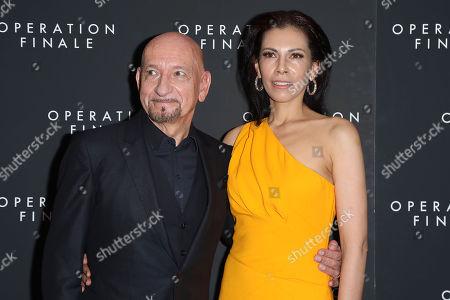 Sir Ben Kingsley, Daniela Lavender