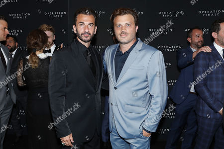 Editorial image of New York Premiere of 'Operation Finale', USA - 16 Aug 2018