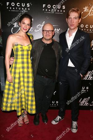 Ruth Wilson, Lenny Abrahamson (Director) and Domhnall Gleeson