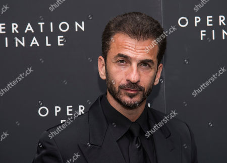 """Michael Aronov attends the premiere of """"Operation Finale"""" at the Walter Reade Theater, in New York"""