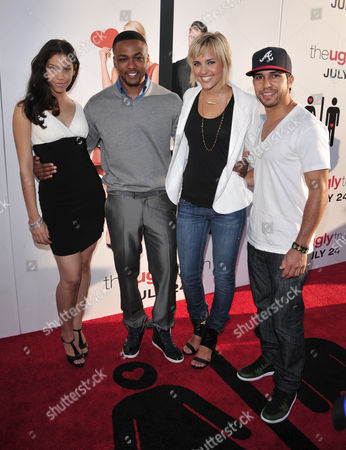 Fame Cast Members Kristy Flores, Collins Pennie, Kherington Payne and Walter Perez