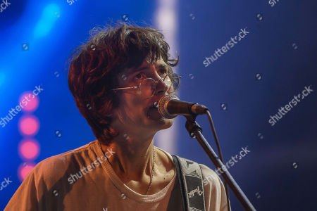 US musician Zachary Cole from rock band DIIV performs on stage at 'Paredes de Coura' music festival, in Paredes de Coura, north of Portugal, 17 August 2018. The festival runs until 18 August.