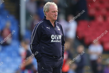Assistant Manager of Crystal Palace, Ray Lewington - Crystal Palace v Liverpool, Premier League, Selhurst Park, London (Selhurst) - 20th August 2018