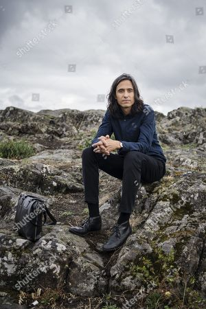 Editorial picture of Jonas Hassen Khemiri photoshoot, Stockholm, Sweden - 15 Aug 2018