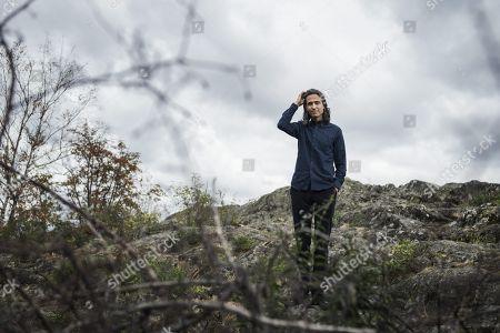 Stock Photo of Swedish author Jonas Hassen Khemiri, författare