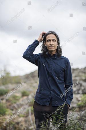 Swedish author Jonas Hassen Khemiri, författare
