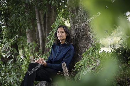 Editorial image of Jonas Hassen Khemiri photoshoot, Stockholm, Sweden - 15 Aug 2018