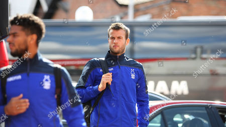 Luke Steele arrives at The City Ground for the Birmingham match
