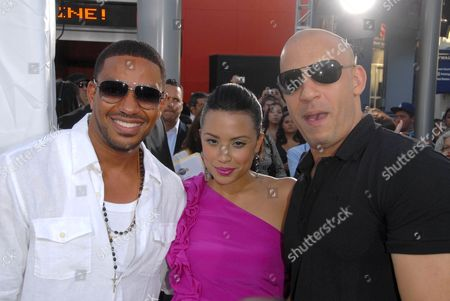 Laz Alonso, Mirtha Michelle and Vin Diesel