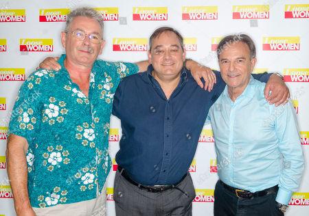 Owen Aaronovitch, Nigel Pivaro and Brian Capron