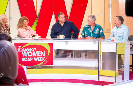 Editorial image of 'Loose Women' TV show, London, UK - 17 Aug 2018