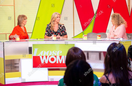 Editorial picture of 'Loose Women' TV show, London, UK - 17 Aug 2018