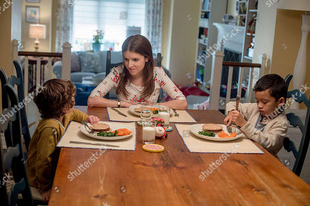 Anna Kendrick as Stephanie, Joshua Satine as Miles, Ian Ho as Nicky
