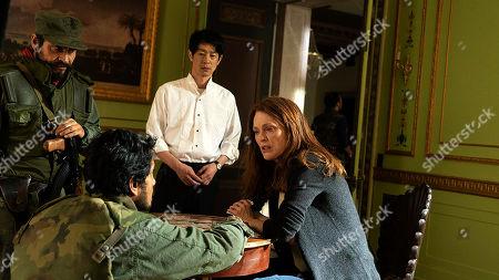 Ryo Kase as Gen, Julianne Moore as Roxanne Coss