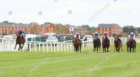 ATHMAD ridden by James Doyle 1st The Don Deadman Memorial EBF Maiden Stakes at Newbury Copyright: Ian Headington/racingfotos.com