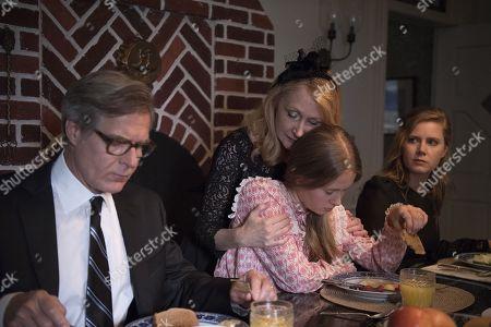 Henry Czerny as Alan Crellin, Patricia Clarkson as Adora Crellin, Eliza Scanlen as Amma Crellin, Amy Adams as Camille Preaker