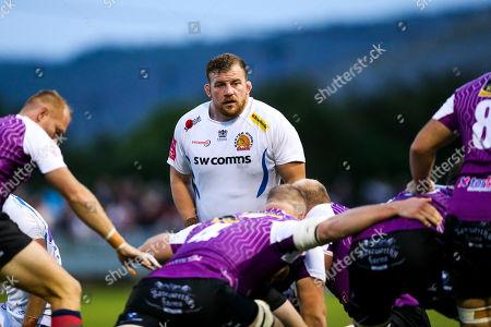 Editorial photo of Cornish Pirates v Exeter Chiefs, UK - 17 Aug 2018