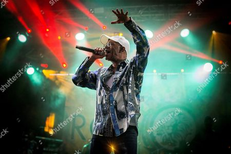 Jamaican singer Beres Hammond performs on stage during the fifth day of the Rototom Sunsplash Festival in Benicassim, Valencia, eastern Spain, 20 August 2018. The Rototom Sunsplash music festival runs from 16 until 22 August 2018.
