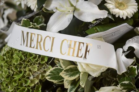 Editorial image of Memorial service for Chef Joel Robuchon, Poitiers, France - 17 Aug 2018