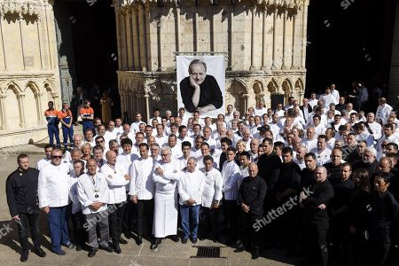 Editorial photo of Memorial service for Chef Joel Robuchon, Poitiers, France - 17 Aug 2018
