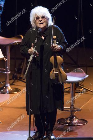 Editorial image of Catherine Lara in concert, Mandelieu La Napoule, France - 16 Aug 2018