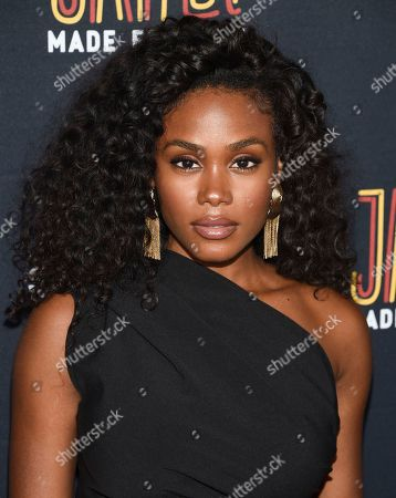 """Stock Picture of Shannon Thornton attends the Janet Jackson and Daddy Yankee """"Made For Now"""" single release party at Samsung, in New York"""