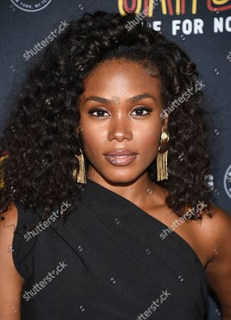 """Shannon Thornton attends the Janet Jackson and Daddy Yankee """"Made For Now"""" single release party at Samsung, in New York"""