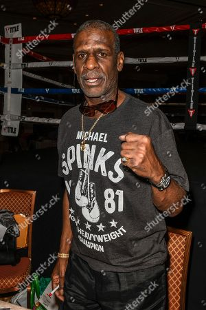 Stock Photo of Michael Spinks