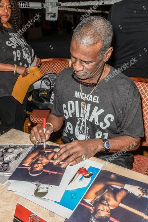 Stock Image of Michael Spinks